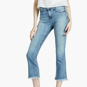 Lucky Brand Vintage Cropped Flare Jeans Sz 25